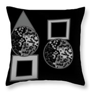 The Circular Motions Of Shadows Throw Pillow