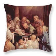 The Circumcision Of The Child Jesus 1640 Throw Pillow