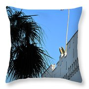 The Citadel In Charleston Throw Pillow