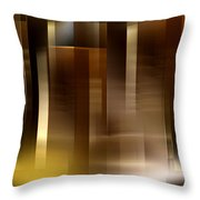 The City At Night 2 Throw Pillow