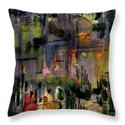 The City Garden Throw Pillow