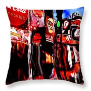 The City Of London Throw Pillow