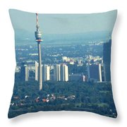 The City Of Vienna Austria Throw Pillow