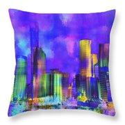 The City  Sydney Throw Pillow