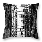 The City Within Throw Pillow
