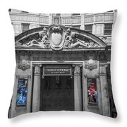 The Civic Opera House Throw Pillow