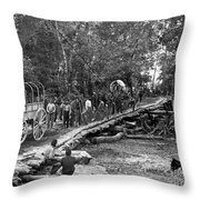 The Civil War: Soldiers Throw Pillow
