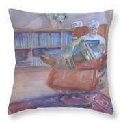 The Civilized Engineer Throw Pillow