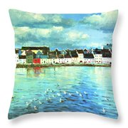 The Claddagh Galway Throw Pillow
