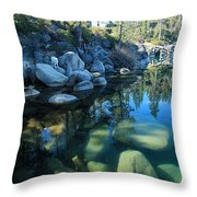 The Clarity Of Morning  Throw Pillow