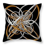 The Classical Model Throw Pillow