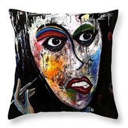 The Cleaning Lady Throw Pillow