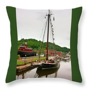 The Clearwater Throw Pillow