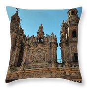 The Clerecia Church In Salamanca Throw Pillow