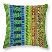 The Climb To The Treehouse Throw Pillow
