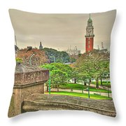 the Clock Throw Pillow