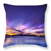 The Cloud Factory 2 Throw Pillow