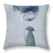 The Cloud Seller Throw Pillow