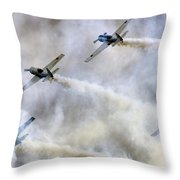 The Cloud Theatre Throw Pillow