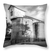 The Coal Silos Throw Pillow