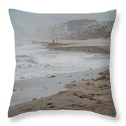 The Coast Throw Pillow