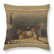 The Cobbler Throw Pillow