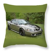 The Cobra Throw Pillow