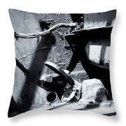 The Cockpit Of Industry Throw Pillow