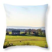 The Codori Barn Throw Pillow