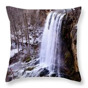 The Cold Morning Throw Pillow