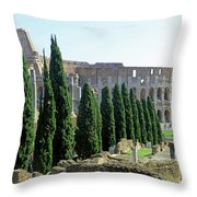 The Coliseum Throw Pillow