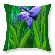 The Color Of Royalty Throw Pillow