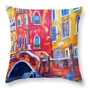 All Tied Up Throw Pillow