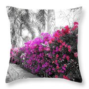 The Color Purple Throw Pillow