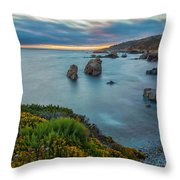 The Colors Of Summer Throw Pillow