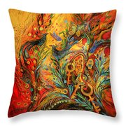 The Colors Of Sunrise Throw Pillow