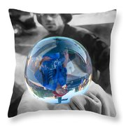 The Colors Of Tomorrow Throw Pillow