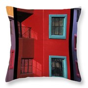 The Colors Of Tucson II Throw Pillow