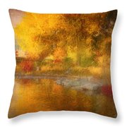 The Colours I See When I Dream Of You Throw Pillow