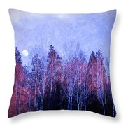 The Colours Of The Moon Throw Pillow