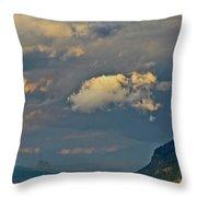 The Columbia Gorge Throw Pillow