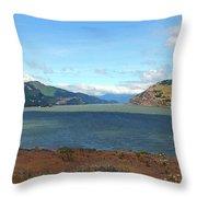 The Columbia River Throw Pillow