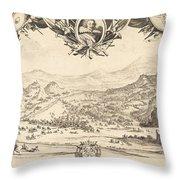 The Combat Of Avigliana Throw Pillow