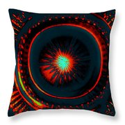 The Combustion Of Passion Throw Pillow