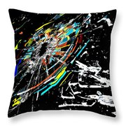 The Comet Throw Pillow