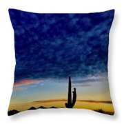 Courtship Of The Seven Sisters Throw Pillow