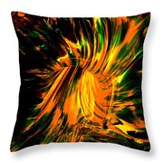 The Coming Of Thunder Throw Pillow