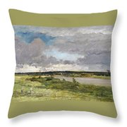 The Coming Storm, Early Spring Throw Pillow