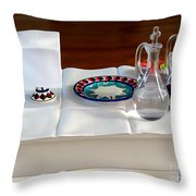 The Communion Table Throw Pillow