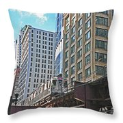 The Commute Home  Throw Pillow